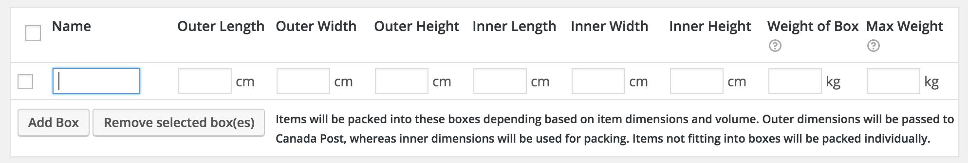 2 ca post box packer 1 - Canada Post Shipping Method