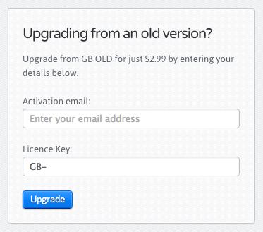 Если включено, пользователи могут обновлять старые ключи по сниженной цене