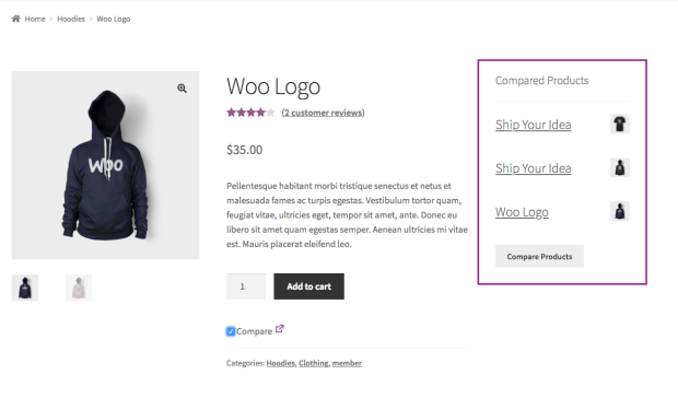 3 11 - WooCommerce Products Compare