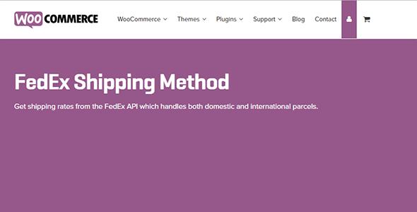 3 woocommerce fedex shipping module - FedEx Shipping Method