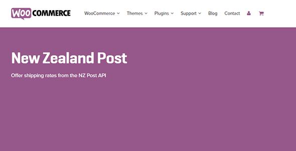 3 woocommerce new zealand post - New Zealand Post
