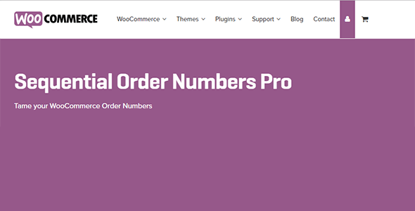 3 woocommerce sequential order numbers pro - Sequential Order Numbers Pro
