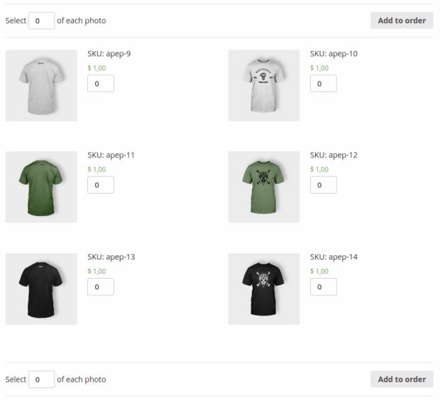 Интуитивная покупка фотографий через WooCommerce.