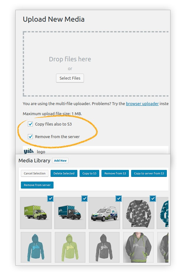 5 2 - YITH Amazon S3 Storage for WooCommerce Premium