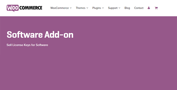 5 woocommerce software add on - Software Add-on