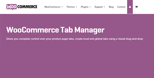 8 woocommerce tab manager - WooCommerce Tab Manager