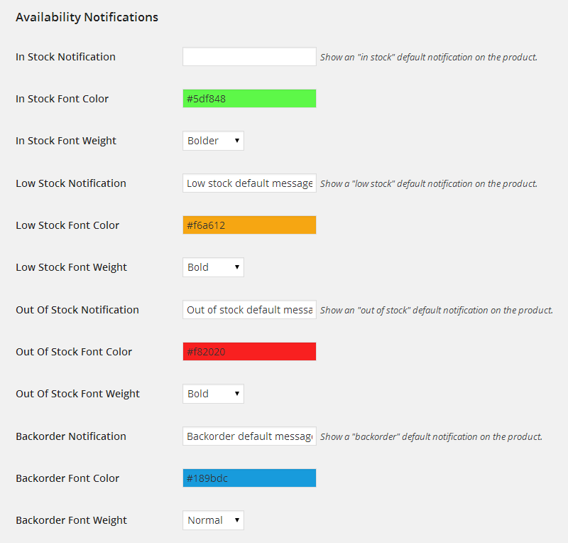 Availability Notifications6 - WooCommerce Availability Notifications