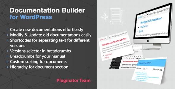 Documentation Builder - WordPress Documentation Builder