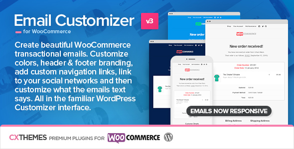 Email Customizer - Email Customizer for WooCommerce