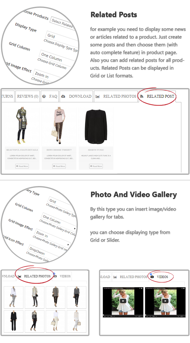 Extra Tabs for Product Page5 - Woocommerce Tabs Pro: Extra Tabs for Product Page