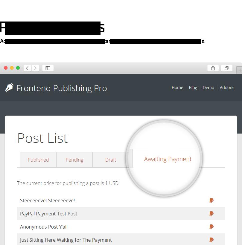 Frontend Publishing Pro3 - Frontend Publishing Pro