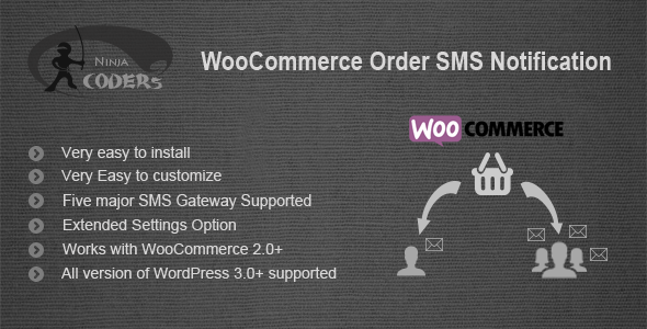Order SMS - WooCommerce Order SMS Notification