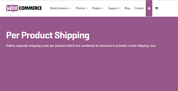 Per Product Shipping - Per Product Shipping