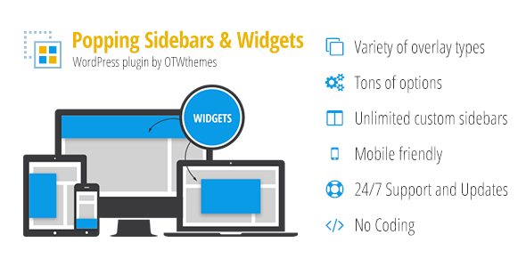 Popping Sidebars and Widgets - Popping Sidebars and Widgets for WordPress