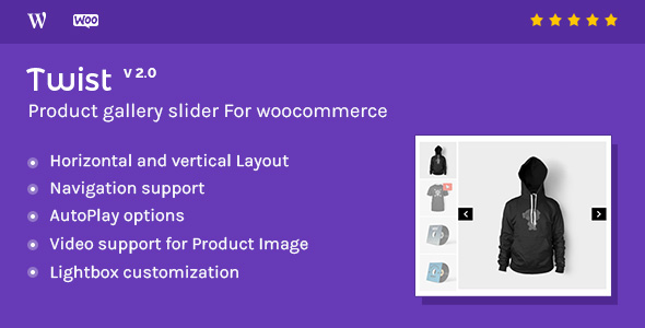 Product Gallery Slider for Woocommerce Twist - Product Gallery Slider for Woocommerce - Twist