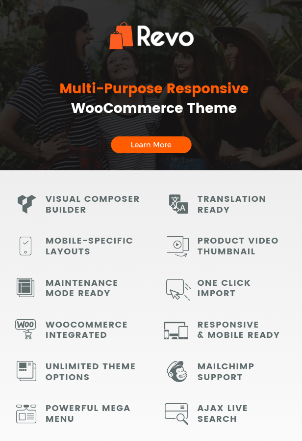 Revo Multi purposeWooCommerceWordPressTheme - Revo - Multi-purpose WooCommerce WordPress Theme