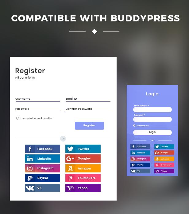 Social Login8 - WooCommerce Social Login - WordPress Plugin