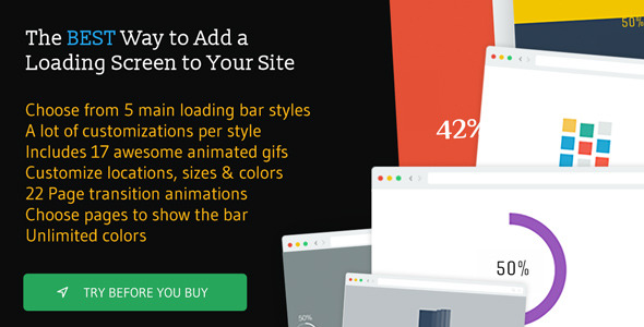 The Loading Bar - The Loading Bar WordPress Plugin