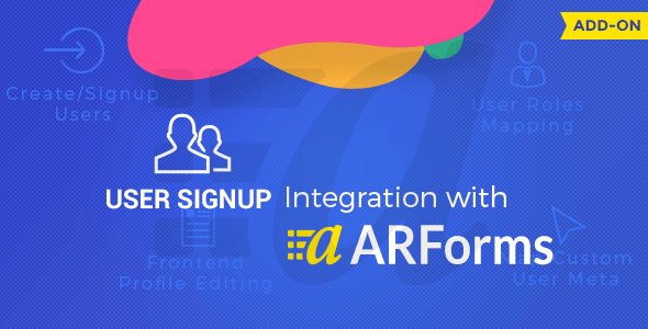 User Signup for Arforms - User Signup for Arforms