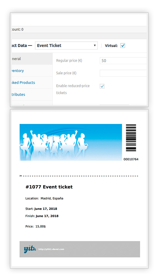 YITH Event Tickets for WooCommerce2 - YITH Event Tickets for WooCommerce