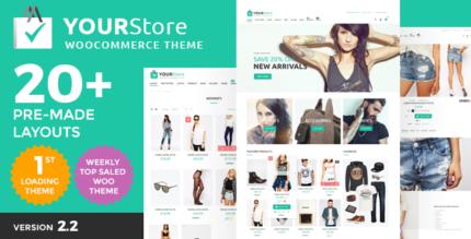 YourStore - Woocommerce theme скачать