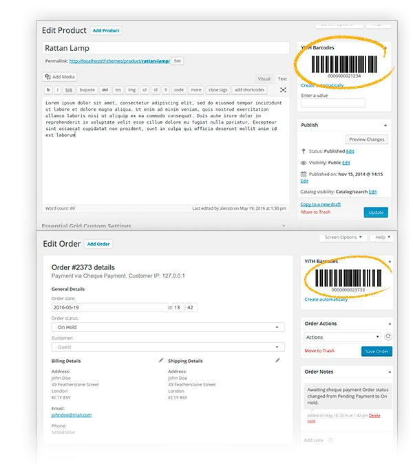 YITH WooCommerce Barcodes Premium2 - YITH WooCommerce Barcodes Premium