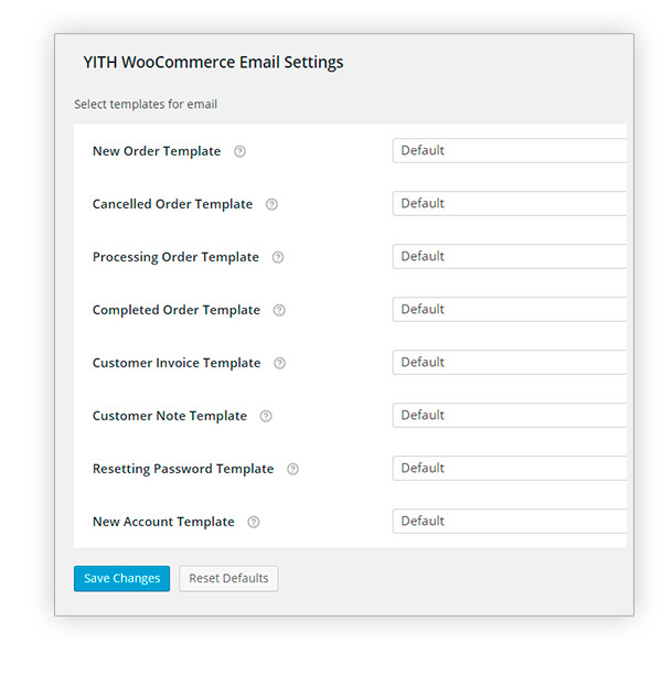 YITH WooCommerce Email Templates Premium 2 - YITH WooCommerce Email Templates Premium