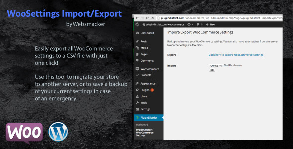 WooSettings Import Export 590x300 - WooCommerce Settings Backup and Migration