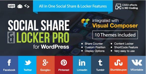 03 - Social Share & Locker Pro Wordpress Plugin